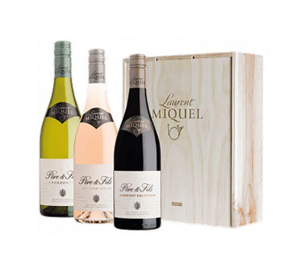 wijngeschenken 3 flessenkist