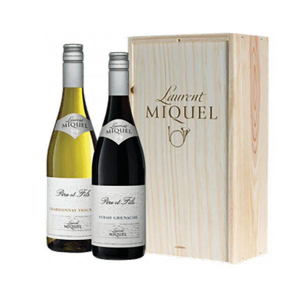 Wijngeschenk rode en witte wijn Frankrijk
